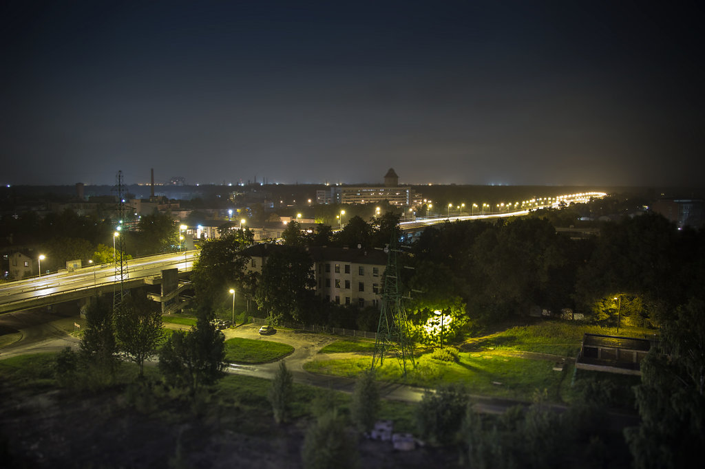 Teika at night